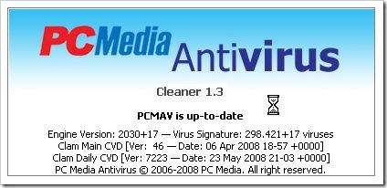 PC Media Antivirus PCMAV 1.3