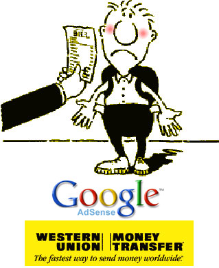 adsense western union Google Adsense support Western Union   INDONESIA
