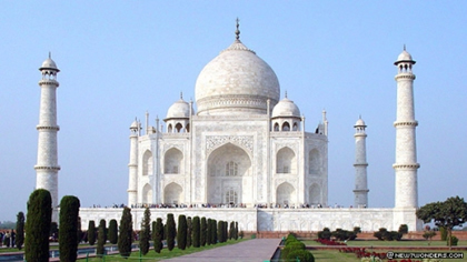 The Taj Mahal (1630 A.D.) Agra, India