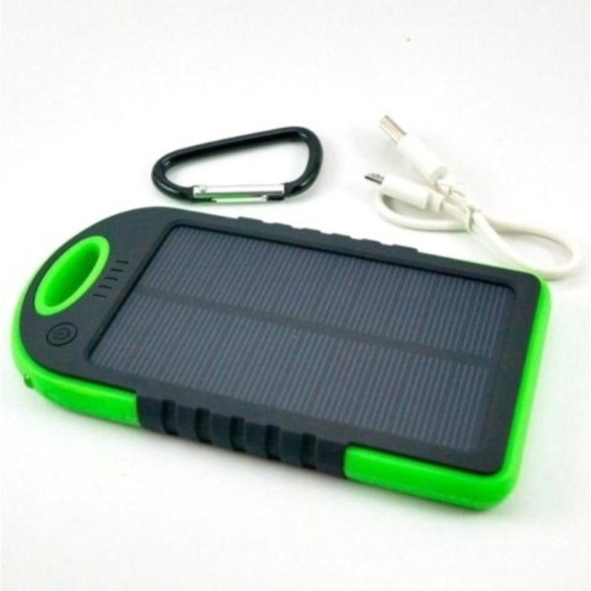 Power Bank Solar Tenaga Surya