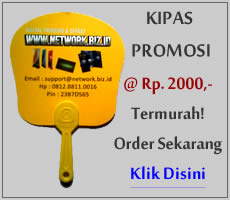 Kipas Promosi Murah